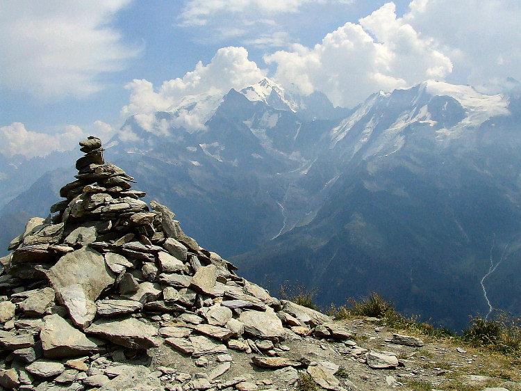 Sur le mont Joly.